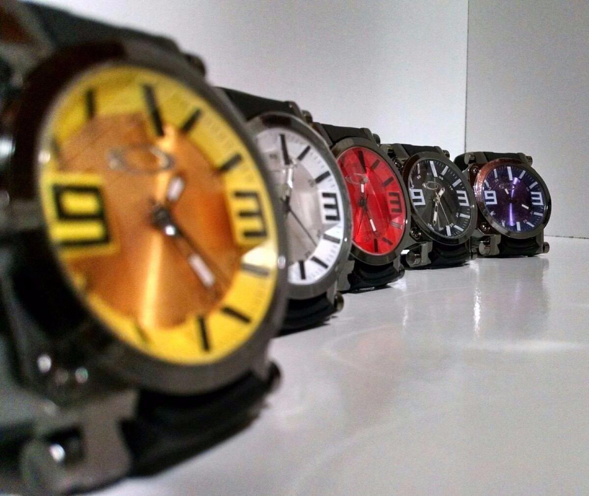 Relógio Oakley Gearbox Titanium Á Prova D'Água Para todas as ocasiões